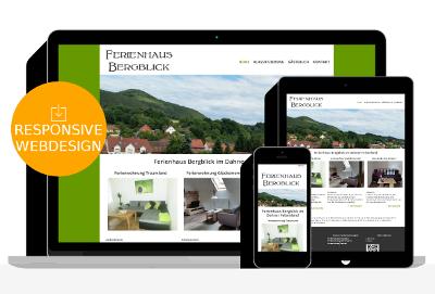 Ferienwohnung Webdesign