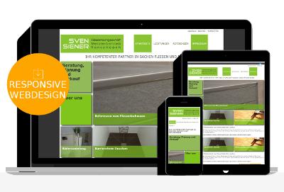 Responsive Webdesign für Handwerker Homepage