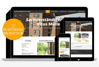 Responisve Webdesign für Immobilien