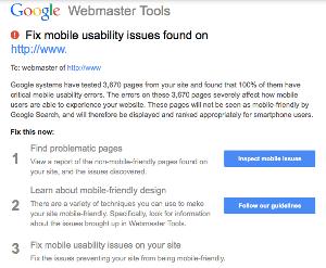 responisve webdesign google