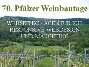 70. Weinbautage in Neustadt