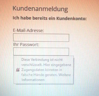 Websites ohne ssl-zeitifikate