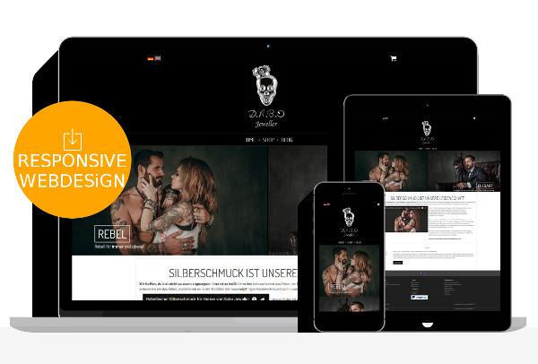Silberschmuck Webdesign Relaunch